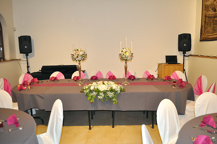 Salle pour mariages entre Huy et Andenne